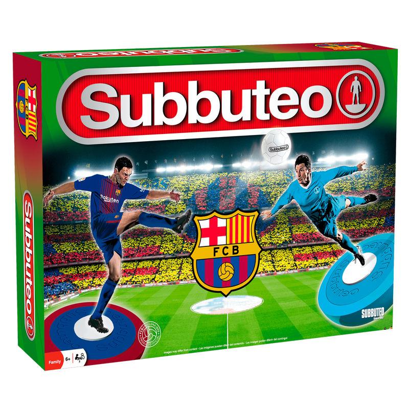 Juego Subbuteo playset F.C Barcelona