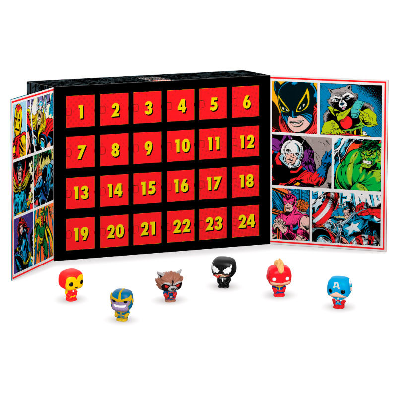 Funko POP Calendario Adviento Personajes Marvel