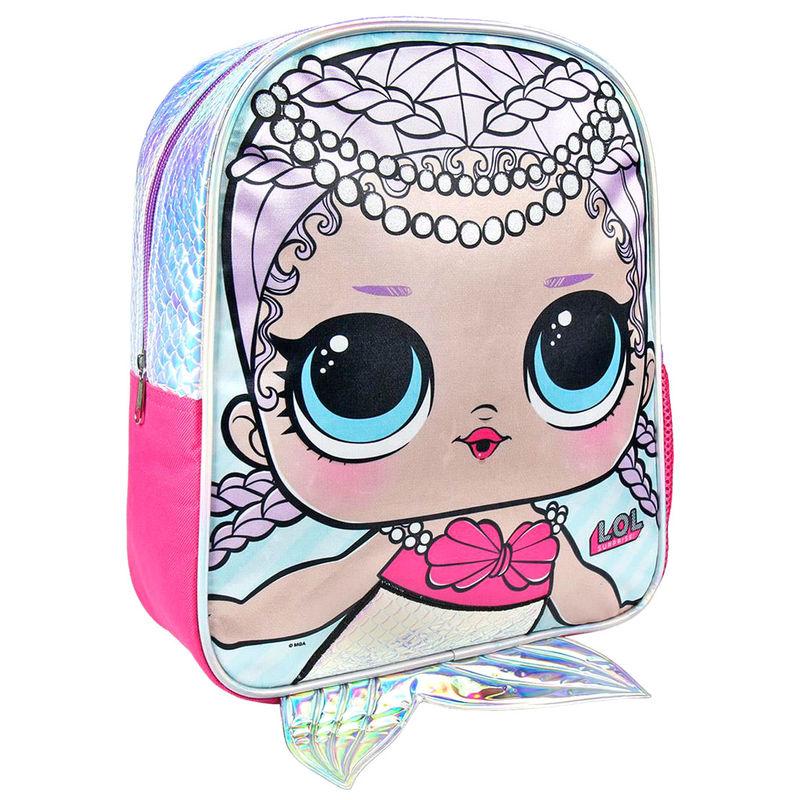 Mochila Sirena LOL Surprise 31cm 8427934273157