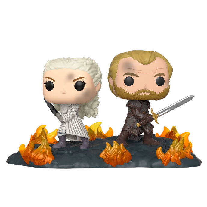 Figura POP Juego de Tronos Daenerys & Jorah B2B with Swords