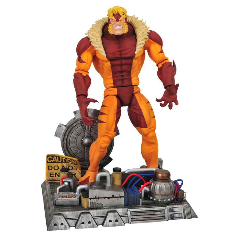 Figura articulada Dientes de Sable X-Men Marvel 18cm