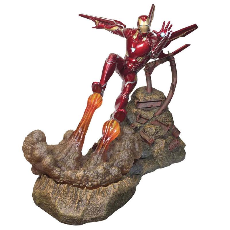 Estatua resina Iron Man MK50 Vengadores Infinity War Marvel 30cm