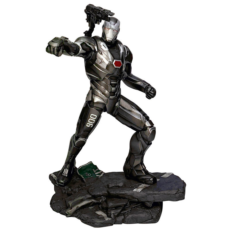 Estatua diorama War Machine Vengadores Endgame Marvel 23cm