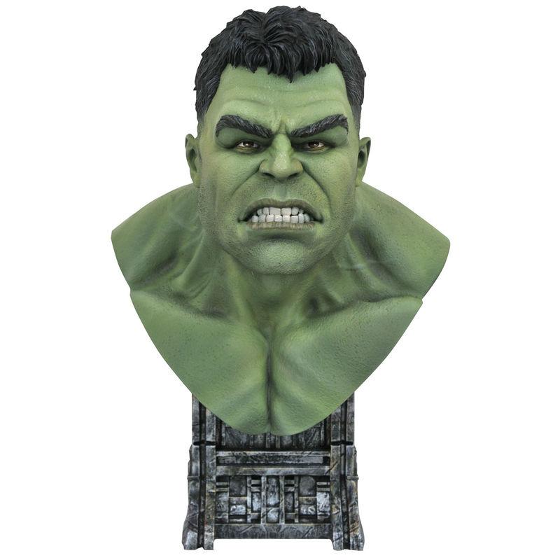 Busto resina Hulk Thor Ragnarok Marvel 25cm