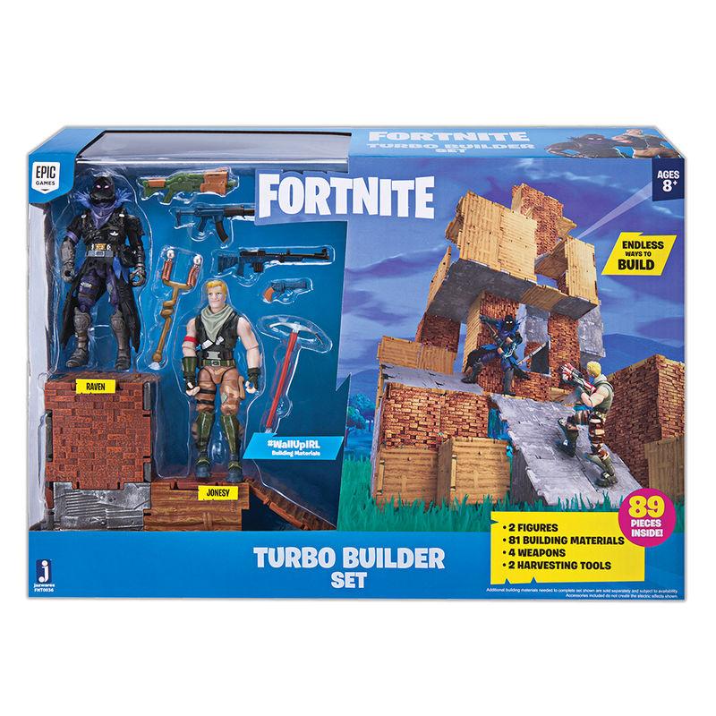 Set construccion + 2 figuras Fortnite