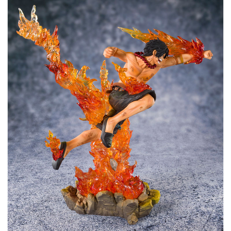 Figura Figuarts Zero D. Ace Portgas Commander of the Whitebeard 2nd Division 20cm One Piece