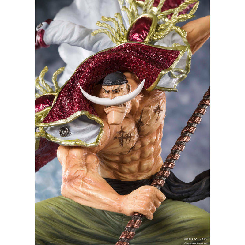Figura Figuarts Zero Edward Newgate Commander of the Whitebeard 2nd Division 27cm