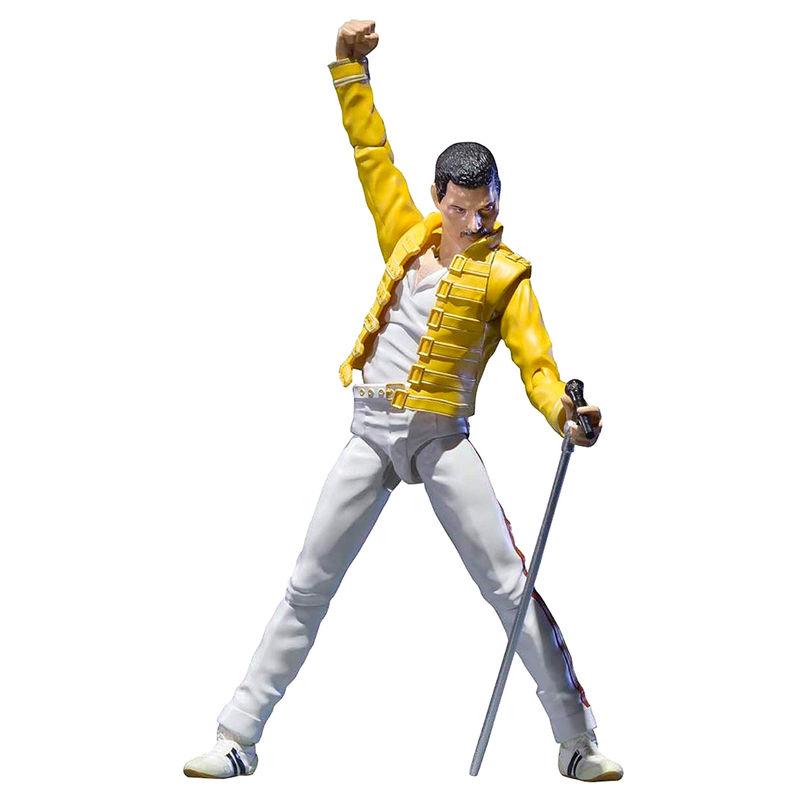Figura SH Figuarts Freddie Mercury Queen 14cm
