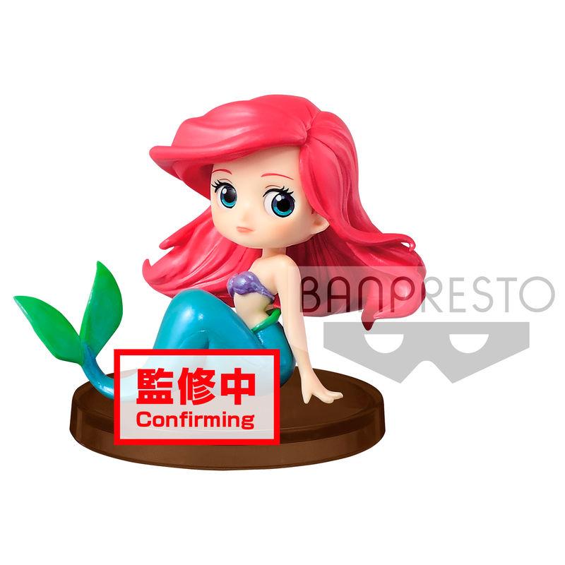 Figura Ariel La Sirenita Disney Q Posket A 5cm