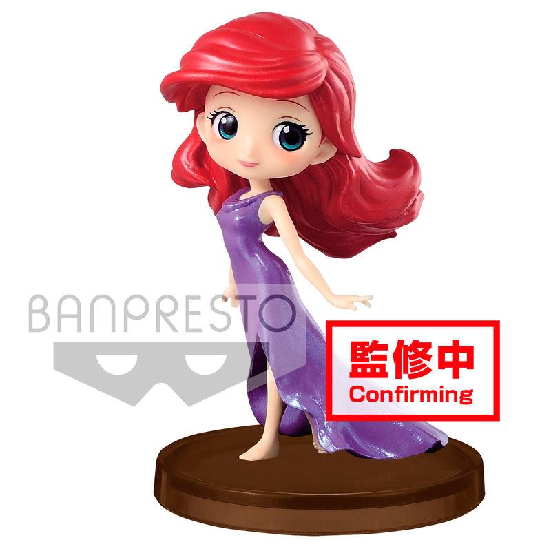 Figura Ariel La Sirenita Disney Q Posket D 5cm