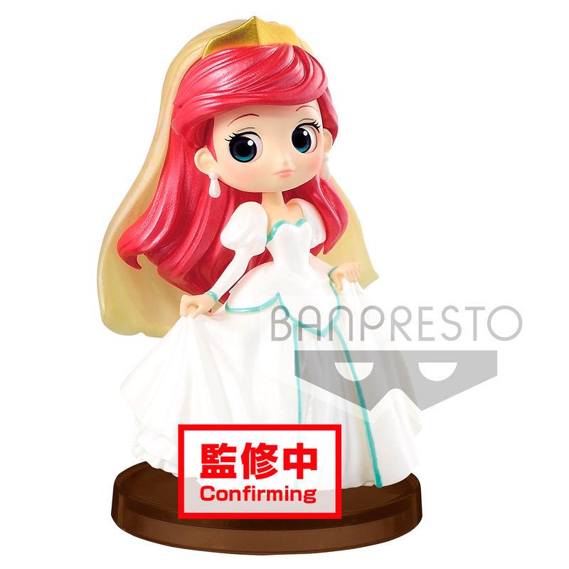 Figura Ariel La Sirenita Disney Q Posket E 5cm