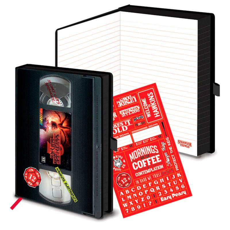 Cuaderno A5 VHS Stranger Things (1)