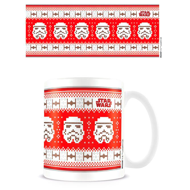 Taza Stormtrooper Navidad Star Wars