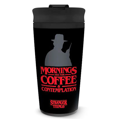 Taza viaje Coffe and Contemplation Stranger Things 5050574253710