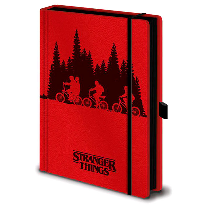 Cuaderno A5 premium Upside Down Stranger Things