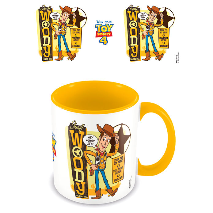 Taza Woody Toy Story 4 Disney Pixar