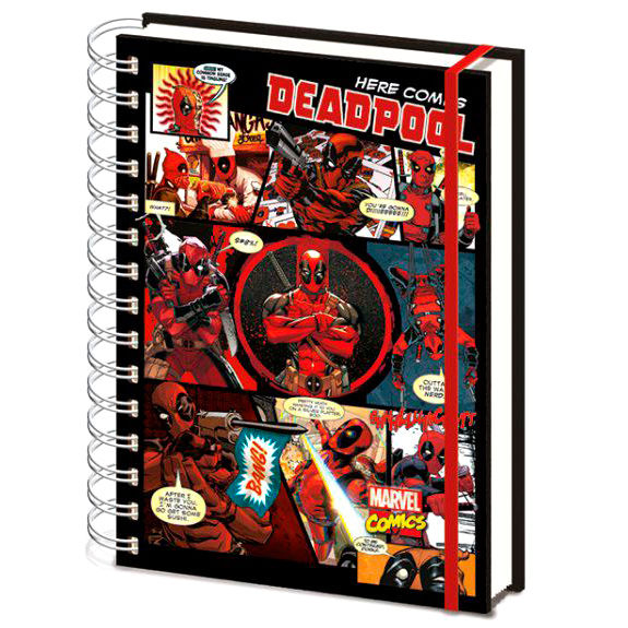 Cuaderno A5 Deadpool Marvel