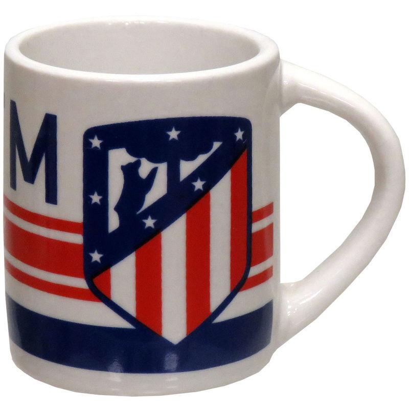 Minitaza Atletico de Madrid ceramica
