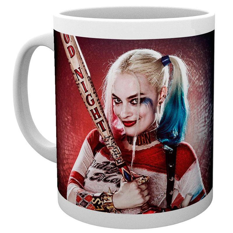 Taza Harley Quinn Good Night Escuadron Suicida DC Comics