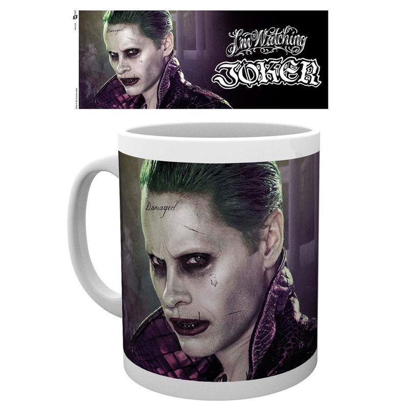 Taza Joker Escuadron Suicida DC Comics
