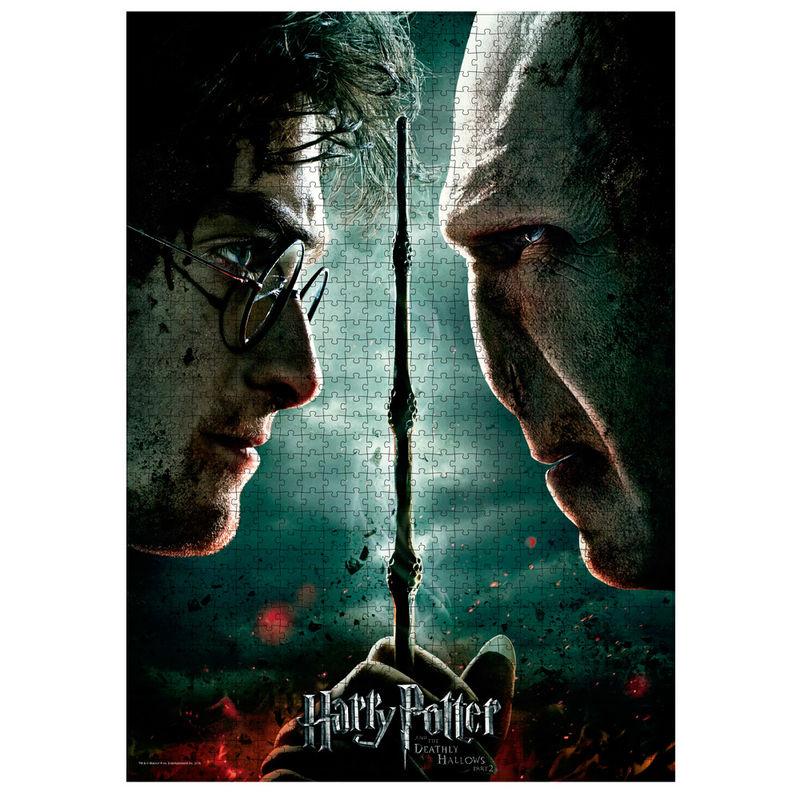 Puzzle Harry vs Voldemort Harry Potter 1000pcs 8435450232404