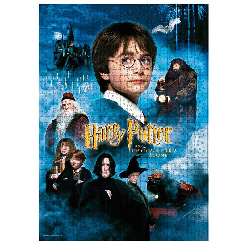 Puzzle Poster Harry Potter y la Piedra Filosofal 1000pcs 8435450232411