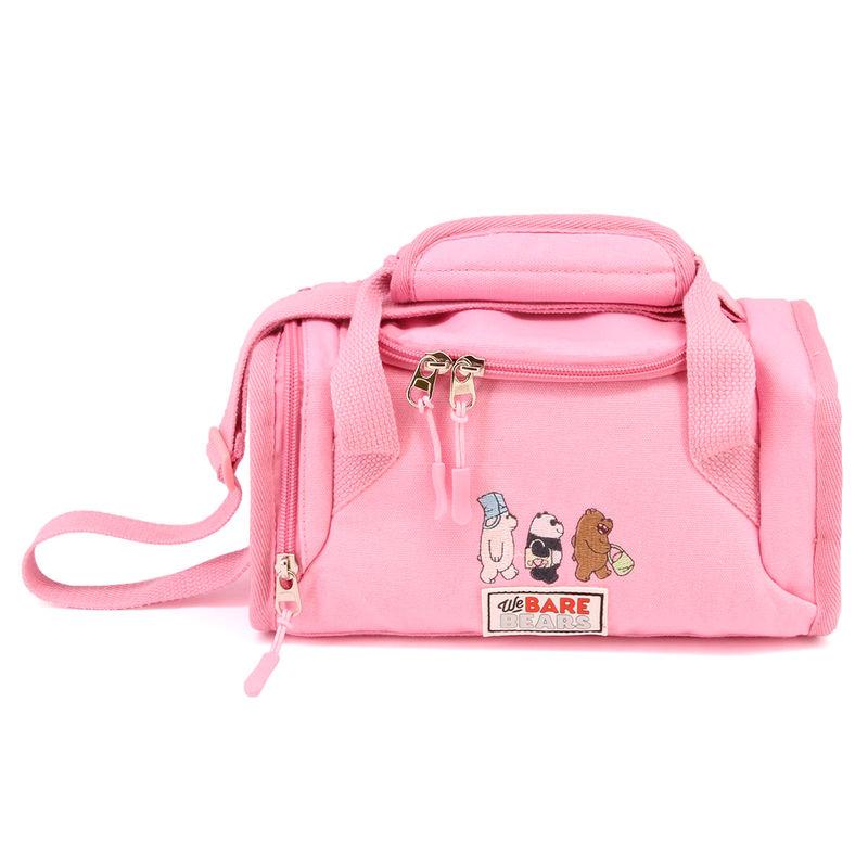 Bolsa portameriendas Somos Osos rosa