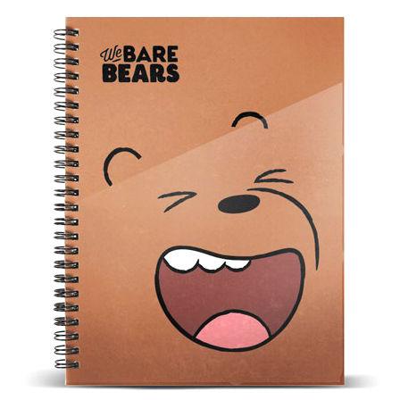 Cuaderno A5 Oso Pardo Somos Osos