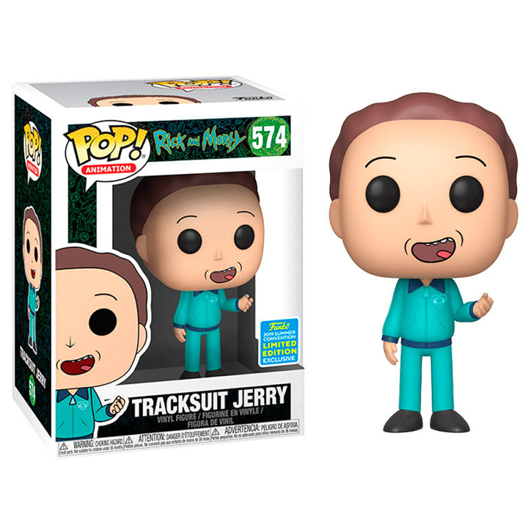 Figura POP Rick & Morty Tracksuit Jerry Exclusive SDCC