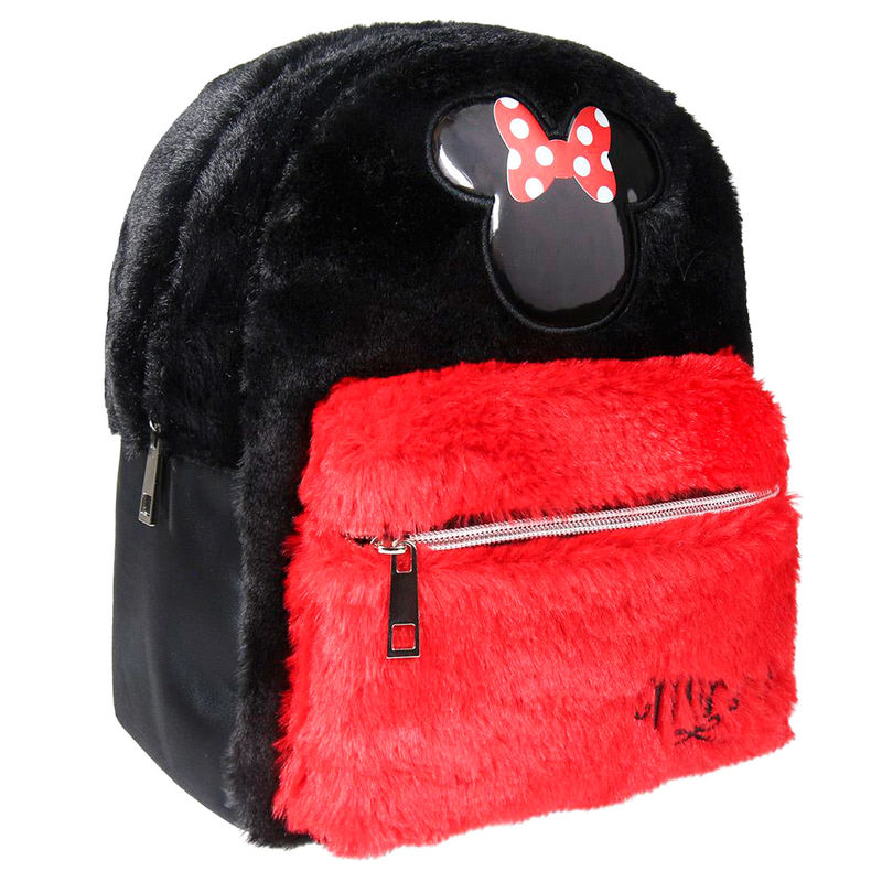 Mochila fluffy Minnie Disney 26cm