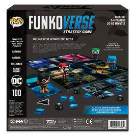 Juego mesa POP Funkoverse DC Comics 4fig Español