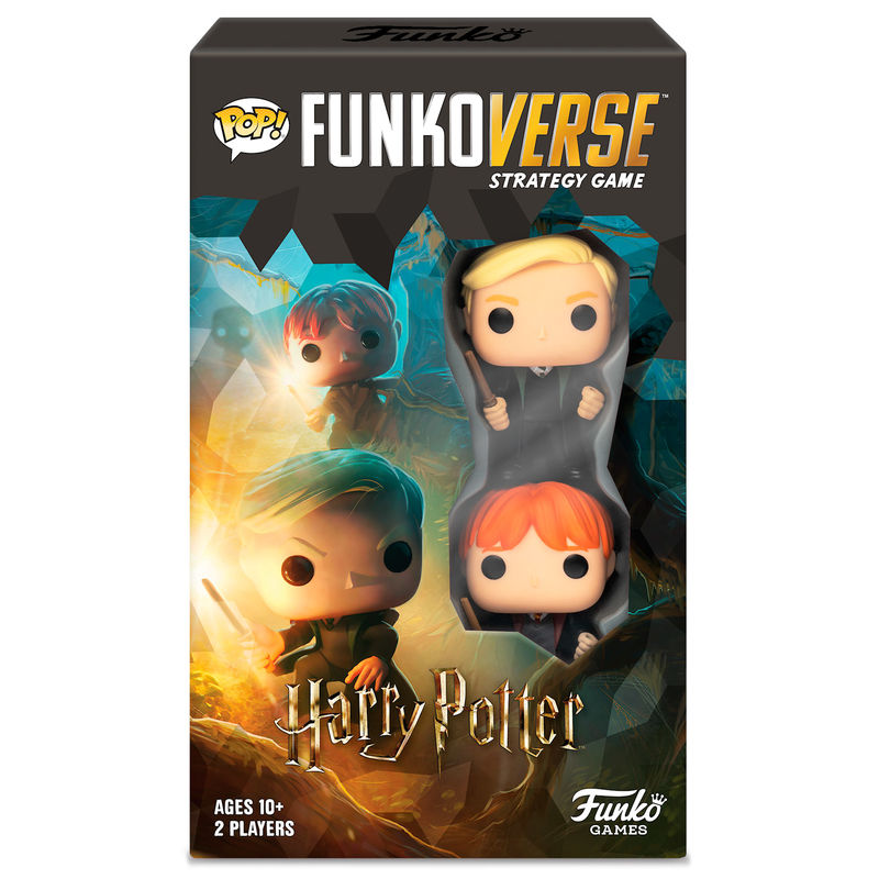 Juego mesa POP Funkoverse Harry Potter 2fig Español