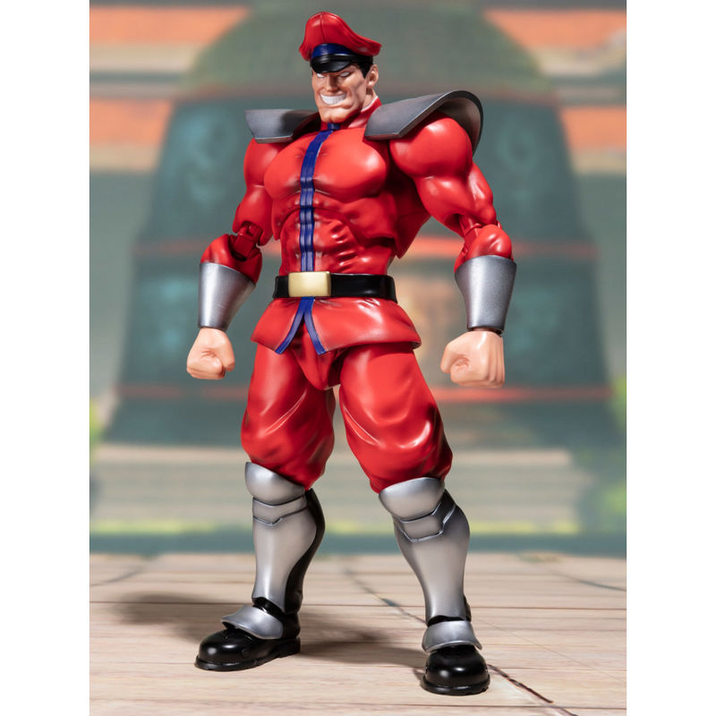 Figura S.H. Figuarts M. Bison Street Fighter Tamashii Web Exclusive 17cm