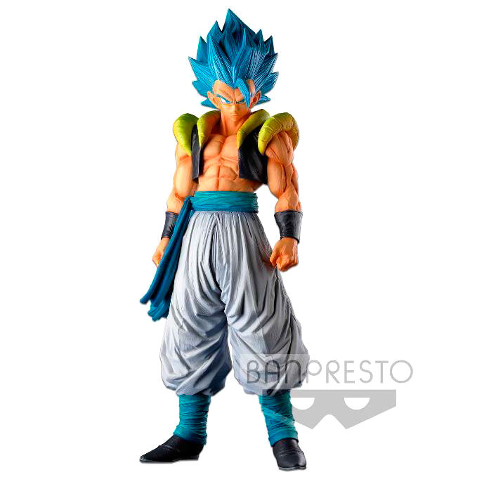 Figura Super Saiyan Blue Gogeta Super Master Stars Piece Dragon Ball Super 34cm By Banpresto