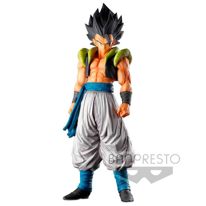 Figura Gogeta Super Master Stars Piece Dragon Ball Super 34cm By Banpresto