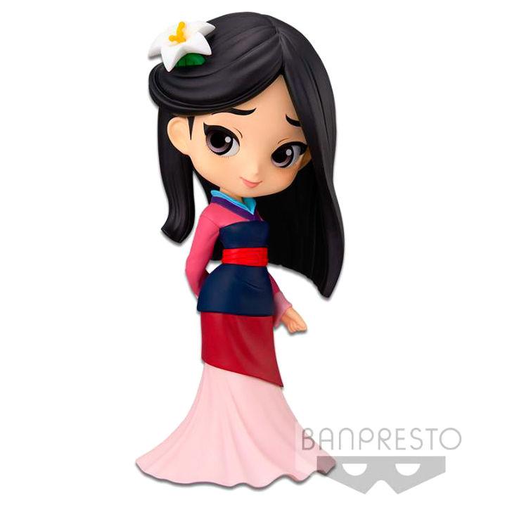 Figura Mulan Disney Q Posket 14cm