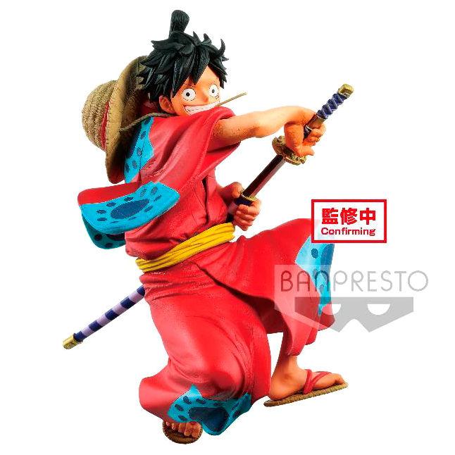 Figura D. Luffy Wanokuni King Of Artist One Piece 16cm By Banpresto