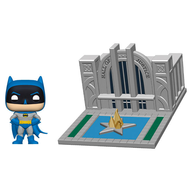 Funko POP o Figura POP DC Comics Batman 80th Hall of Justice with Batman