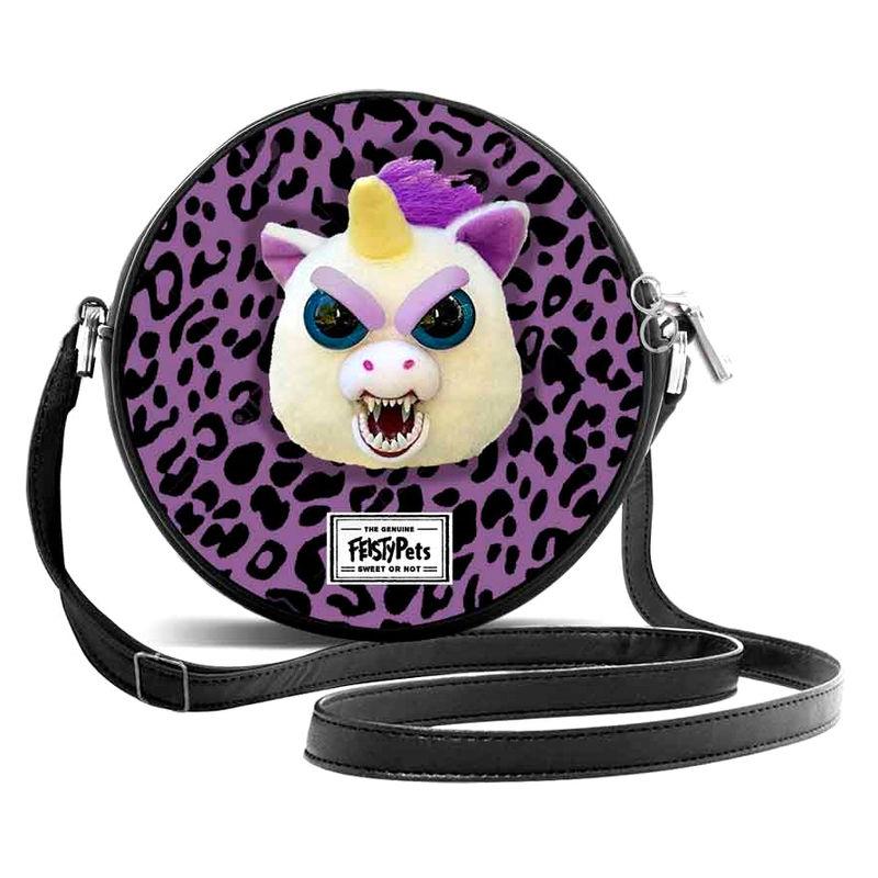 Bolso bandolera Feisty Pets Glenda Glitterpoop 8435376393777