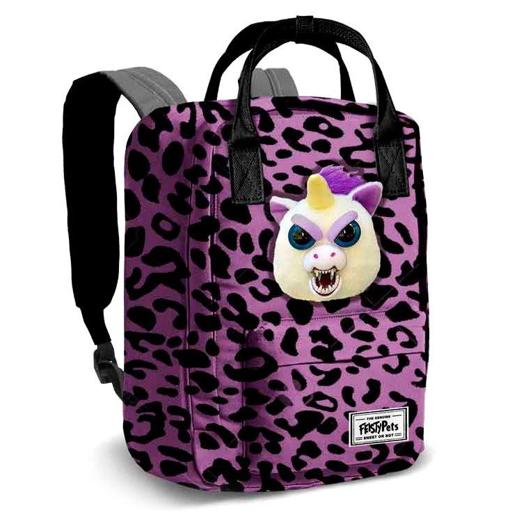 Mochila Feisty Pets Glenda Glitterpoop 40cm 8435376393746