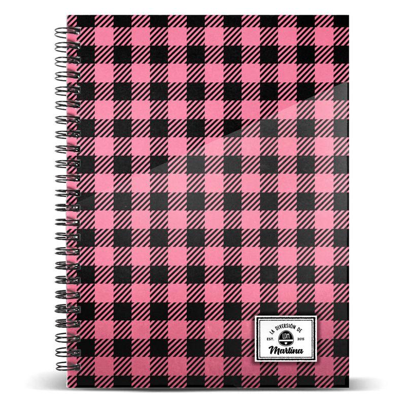 Cuaderno A4 La Diversión de Martina Square