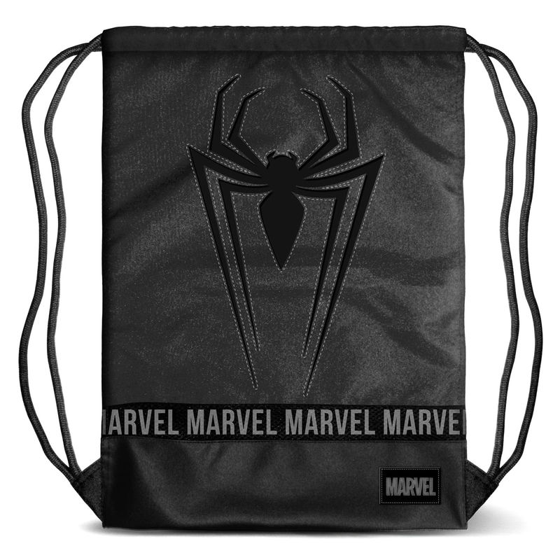 Saco Spiderman Marvel Black 48cm