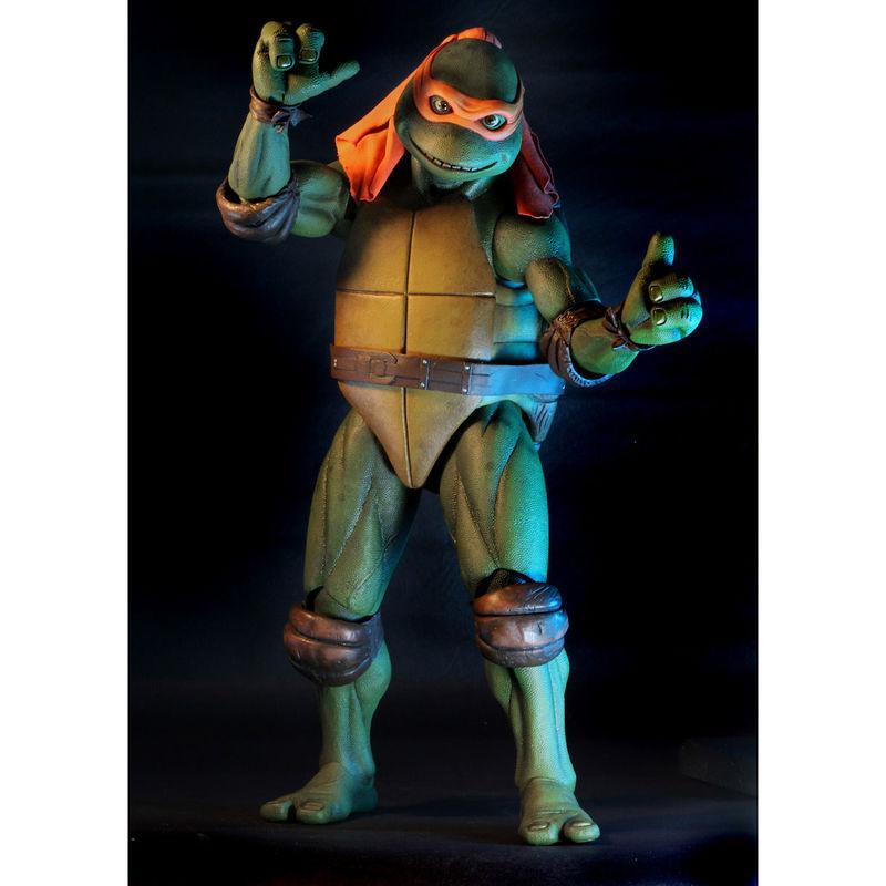 Figura articulada Michelangelo Tortugas Ninja 42cm