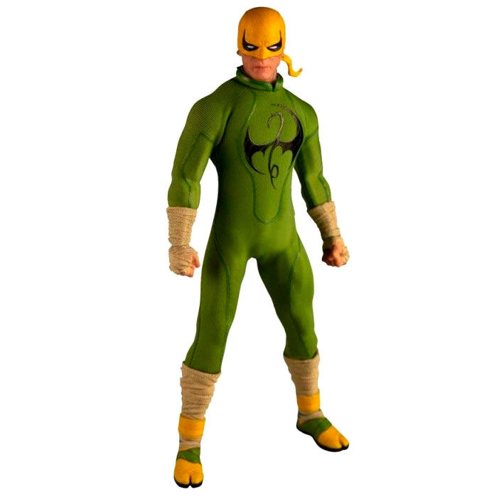 Figura articulada Iron Fist The One 12 Collective Deluxe Marvel 16cm