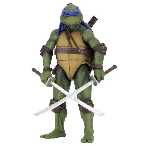Figura articulada Leonardo Tortugas Ninja 42cm