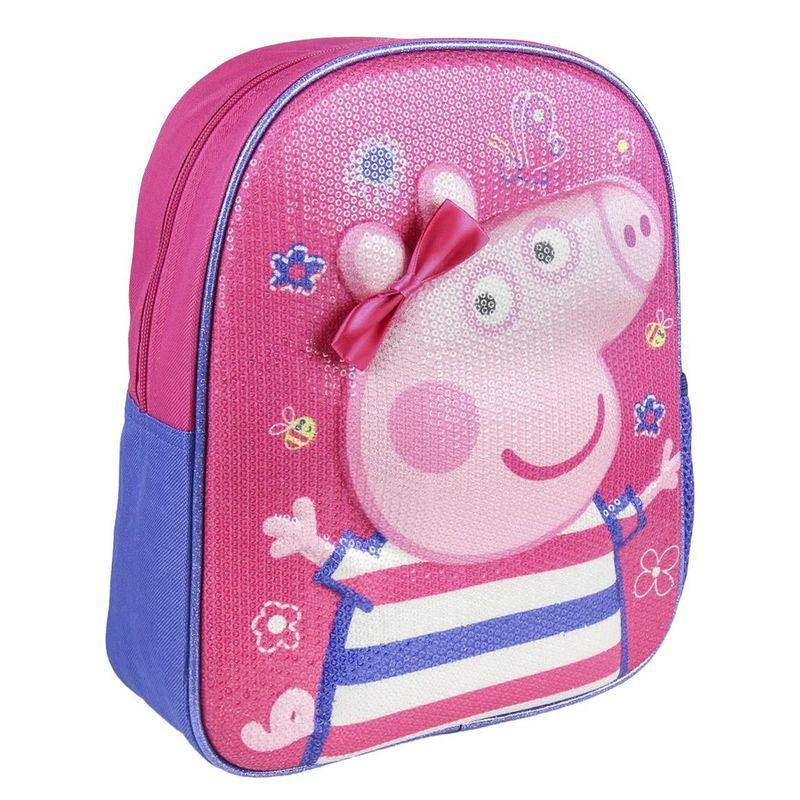 Mochila 3D Peppa Pig 31cm 8427934280407