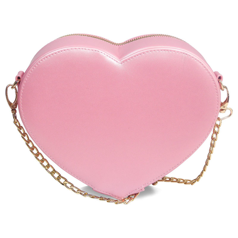 Bolso corazon Polly Pocket rosa