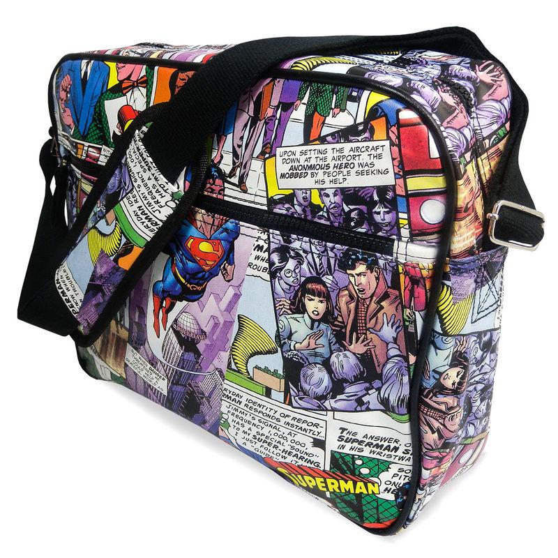Bolso bandolera Superman DC Comics