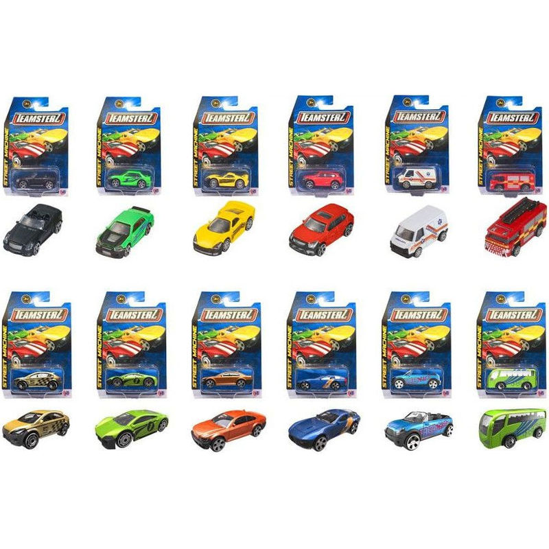 Blister Coche Die Cast Teamsterz surtido