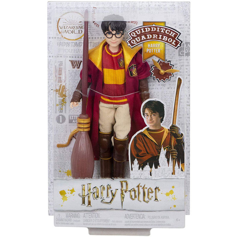Muñeco Harry Potter Quidditch